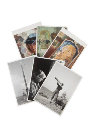 Tove Jansson postcards, 6 pcs (5012179)