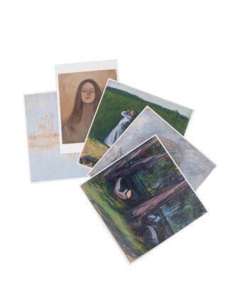 Ellen Thesleff maalausten postikortit 5 kpl (5012184)